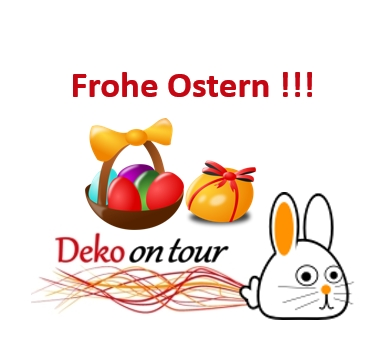 frohe ostern deko on tour. Black Bedroom Furniture Sets. Home Design Ideas