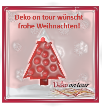 frohe weihnachten deko on tour. Black Bedroom Furniture Sets. Home Design Ideas